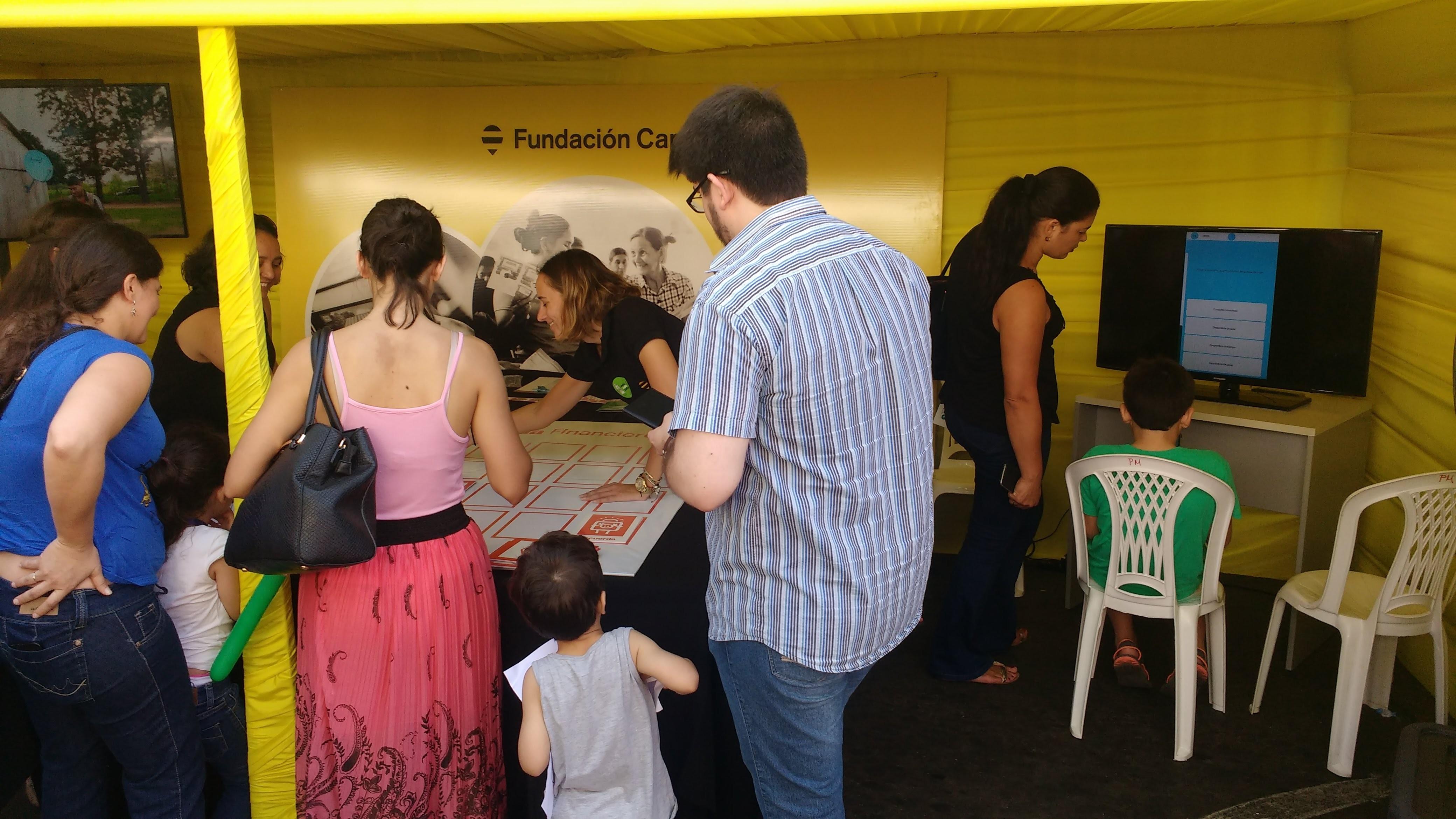 Participamos En La Kermesse Financiera De La Enif En Paraguay